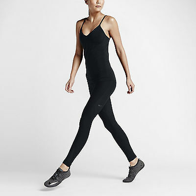 Nike Womens Zone Sculpt Training Tights - 725153-010 - Size XS - Black