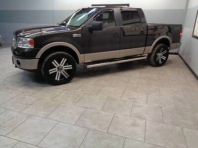 2007 Ford F-150  2007 Ford F-150 4X4 Lariat Crew Cab Heated Seats Leather WE FINANCE Texas