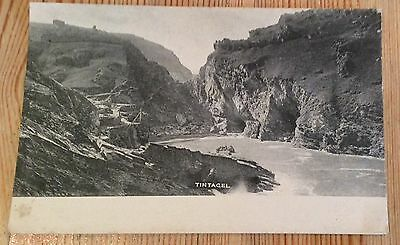 TINTAGEL - Showing King Arthurs Castle & Cove -Cornwall  Early 1900's Unposted