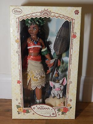 Disney Store Moana Limited Edition Doll UK Version Official 1 of 6500