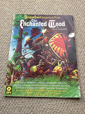 Dragonquest Spi Adventure Three The Enchanted Wood Fantasy Rpg Rare Oop