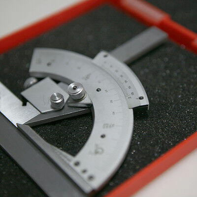 0-320° Precision Angle Measuring Finder Scales Universal Bevel Protractor Tool