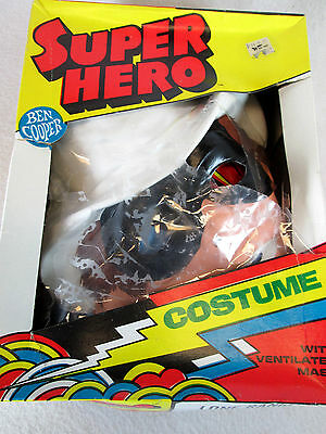 Vintage 1977 The Lone Ranger child sized L 12-14 Halloween costume by Ben Cooper