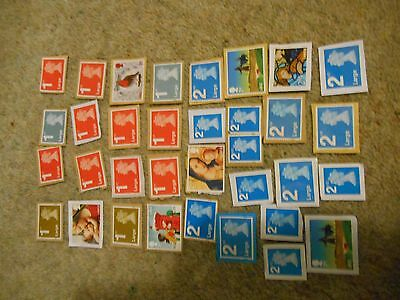 Stamps Great Britain Lot Of Unfranked Large Letter Stamps.