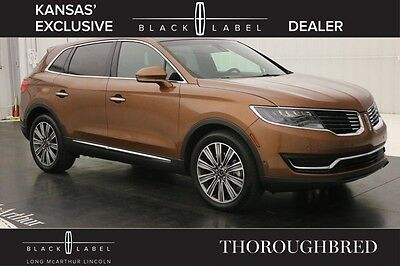 2016 Lincoln MKX THOROUGHBRED THEME NAV PANORAMIC ROOF MSRP$66375 NAVIGATION VENETIAN LEATHER SEATS ALCANTARA WRAPPED HEADLINER WITH MOONROOF