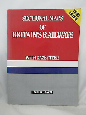 Sectional Maps Of Britains Railways 1989
