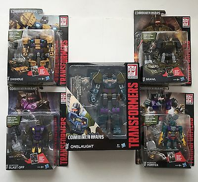 Transformers G1 Combiner Wars Bruticus Combaticons Complete Set MISB