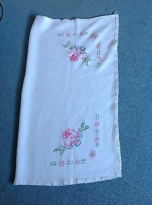 Vintage Small Tablecloth