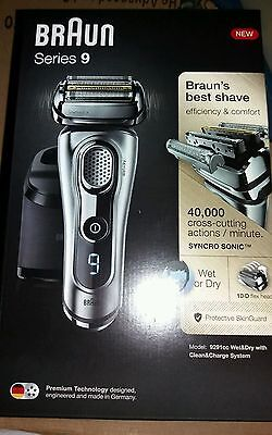 Braun Series 9 9291cc Wet & Dry Electric Shaver