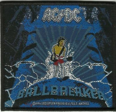 AC/DC ballbreaker 1996 - WOVEN SEW ON PATCH -free shipping