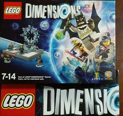 LEGO Dimensions: Starter Pack (PS4) PlayStation 4 - no outer box