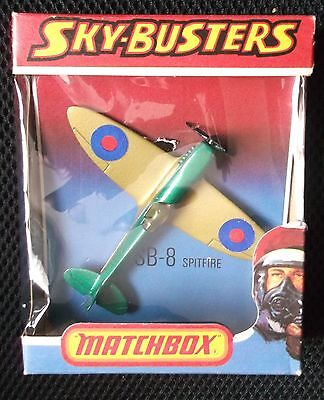 MATCHBOX SKYBUSTERS SB-8 SPITFIRE ( made in England )