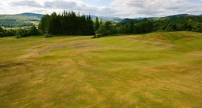 Golf * 4 Ball Round Of Golf * Gatehouse Golf Club * Scotland  * Charity Auction