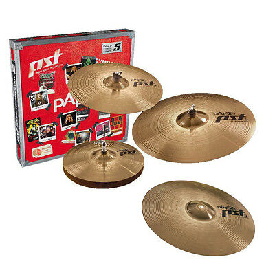 Paiste PST 5 Special Edition Box Set, 14, 18, 20 with Extra 16-inch Crash