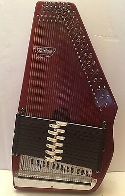 Vintage Oscar Schmidt 12 Chord 36 String Autoharp 1960's-70's EX! with Books