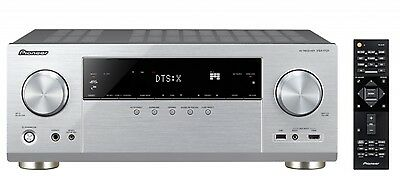 Pioneer VSX-1131-S Silber 7.2-Kanal Streaming Dolby Atmos dts:x 4K Ultra HD