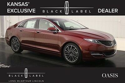 2016 Lincoln MKZ/Zephyr BLACK LABEL MKZ OASIS THEME MSRP $58575 NAV PANORAMIC ROOF LEATHER REMOTE START REVERSE SENSING