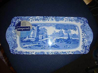 Spode Blue Italian   serving tray BNWT