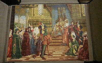 Tower Press Select jigsaw puzzle The Court Jester No. 1141. Vintage puzzle. 400+