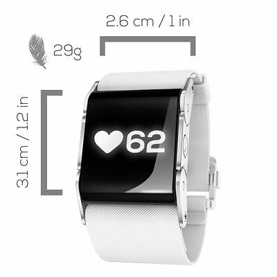 PulseOn HEART RATE WATCH & MONITOR - Running/Fitness/Tracker -RRP £100 (Cloud)
