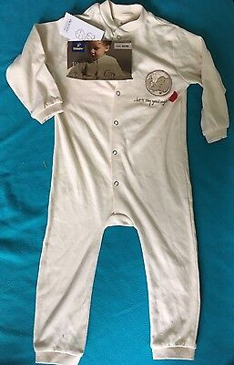 Bnwt Sleepsuit 12-24 Months 100% Organic Cotton Must See