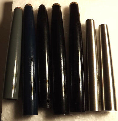 8   Pen Barrels Mainly Parker, Spares Repair & Collectables