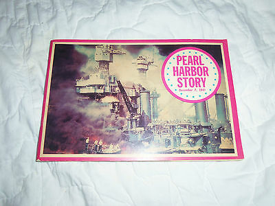 Pearl Harbor Story Booklet Wwii - Lots Of Pictures - 1966