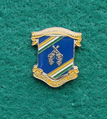 Gloucestershire Constabulary Police TACTICAL FIREARMS UNIT pin badge