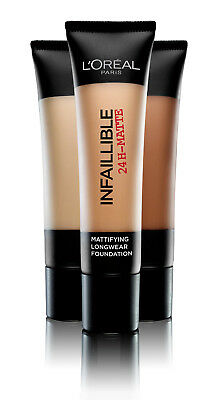 L'Oreal Paris Infallible 24H Matte Foundation 35ml - Parent