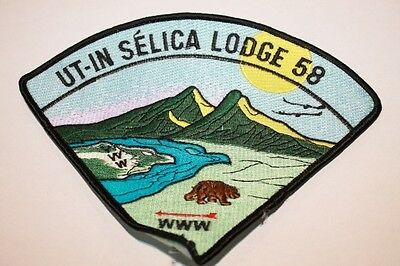 US Canadian Ut In Selica Lodge 58 3 Boy Scout Patch