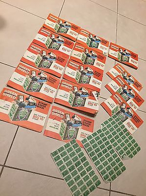 Vintage Green Shield Stamp Books Old Booklets Coupons Rare Unusual