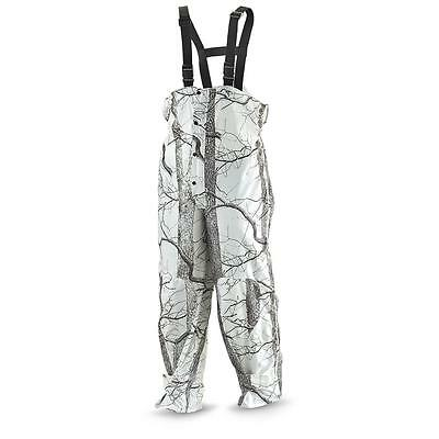 Huntworth Woodsy Snow Camo Hunting Trousers - White (XL)