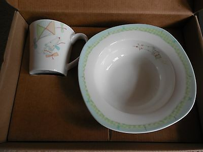 Wedgewood, Two Piece Nostalgia Set, Childs Bowl and Mug from Mamas & Papas