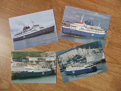 P&O European Ferries Pride Hythe Canterbury Cherbourg Winchester Ferry Postcards