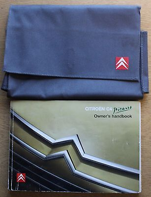 Citroen C4 Picasso Manual Handbook Wallet 2006-2010 Pack 12477