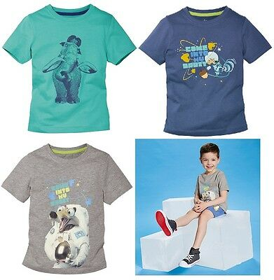 Boys Boy Kids T-shirt Ice Age size: 2 3 4 5 6 7 8 Years
