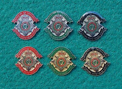 Ministry of Defence Police SECURITY GUARD SERVICE NORTHERN IRELAND pin badge set