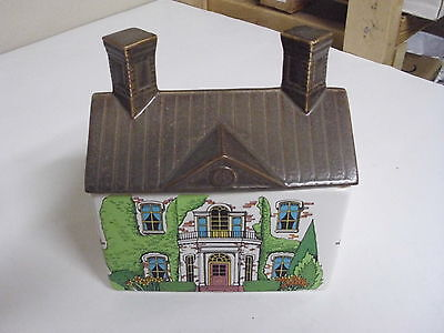Williamsburg Real Estate Cookie Jar House + Lid