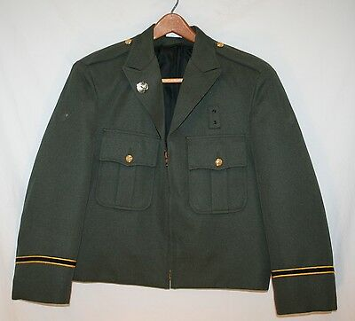 Vintage  Horace Small Millitary green Uniform Jacket Distressed Small
