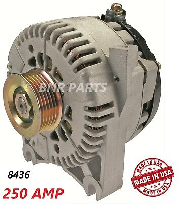 250 Amp 8436 Alternator Ford Mustang Mach 1 03-04 4.6 High Output Performance HD