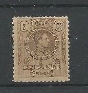 Spain Edifil267,  Mnh,   Number On Reverse