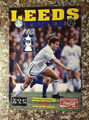 Leeds United V Arsenal FA Cup 4th Round Replay