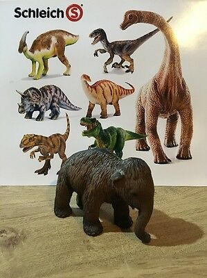 Schleich Highly Detailed Rare Baby Woolley Mammoth