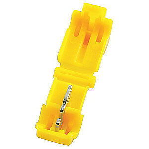 POWER FIRST Displacement Connectorr,12 AWG,PK50, 22EW67, Yellow