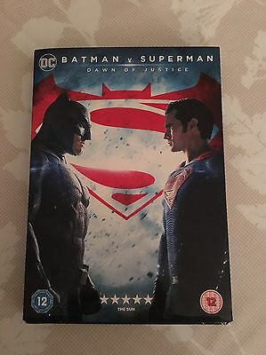 Superman V Batman, Dawn Of Justice DVD Brand New in Cellophane