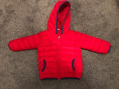 Next Boys Quilted Jacket 8-12 Months