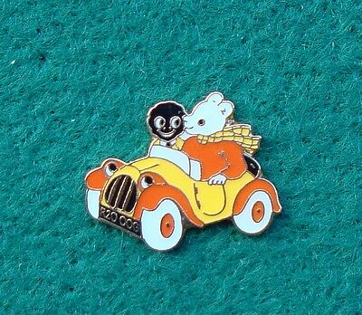 Police RUPERT THE BEAR AND FRIEND tie tac pin badge ..