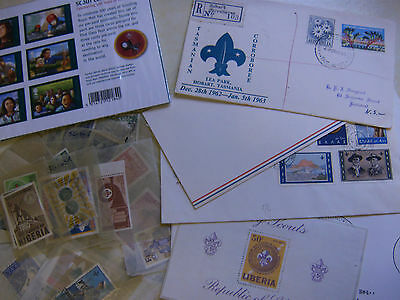 Stamps , Scouts And Scouting Thematic Collection.