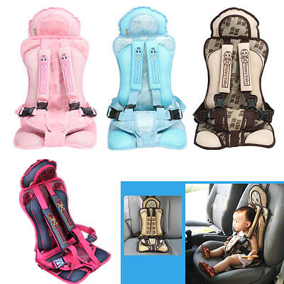 Portable Safety Baby Child Car Seat Infant Toddler Secure Carrier Cushion Soft