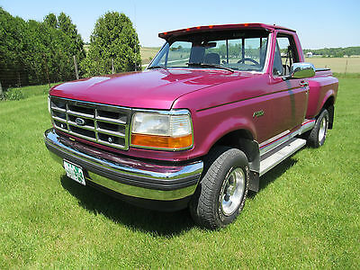 1993 Ford F-150 Factory Trim 1993 Ford F-150 Pickup FlareSide Short Box